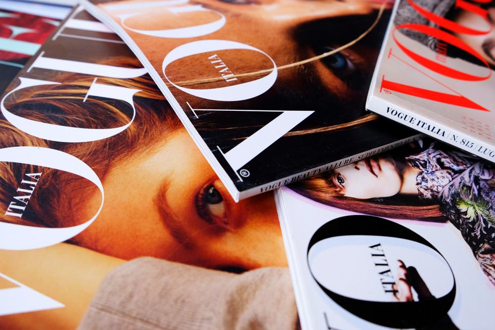 Итальянский Vogue отказался от фотографий - ради экологии