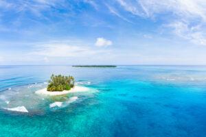 Глобальное потепление: в Индонезии два острова ушли под воду