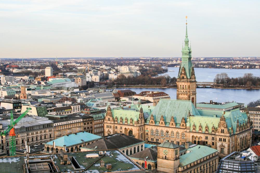 фото Гамбурга ратуша