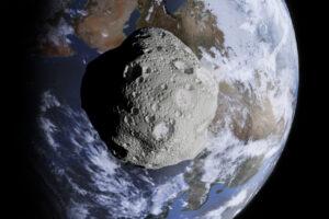 К Земле летит гигантский астероид