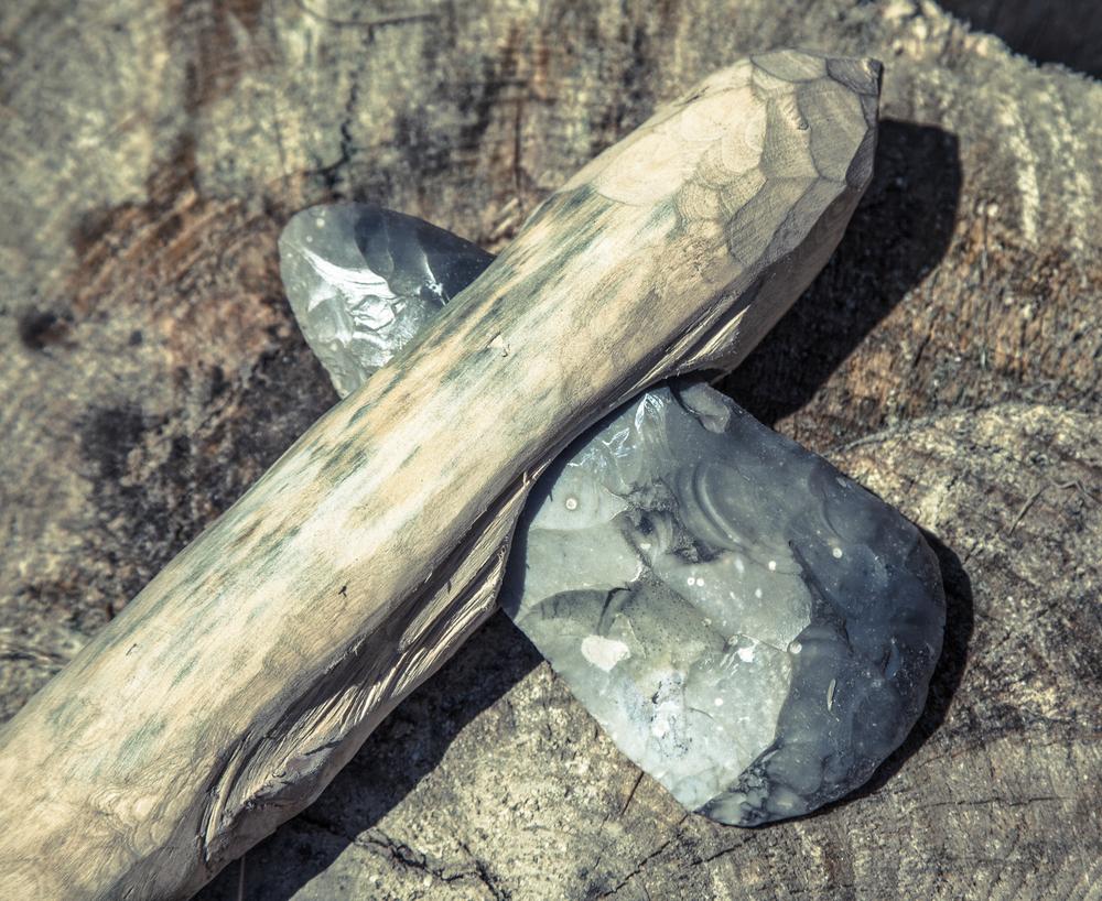 В каменном веке уже были мастера по орудиям.Вокруг Света. Украина