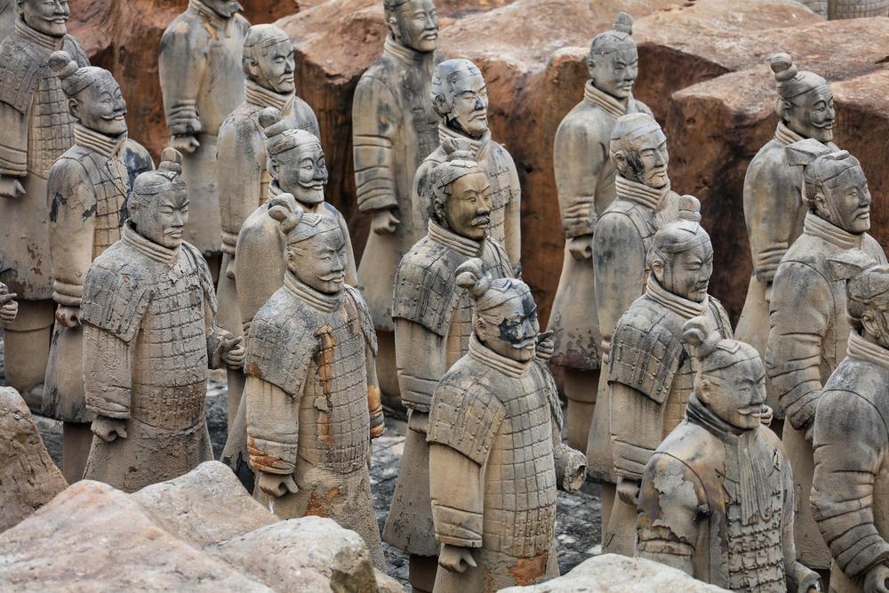 В гробнице первого китайского императора обнаружили еще две сотни терракотовых воинов