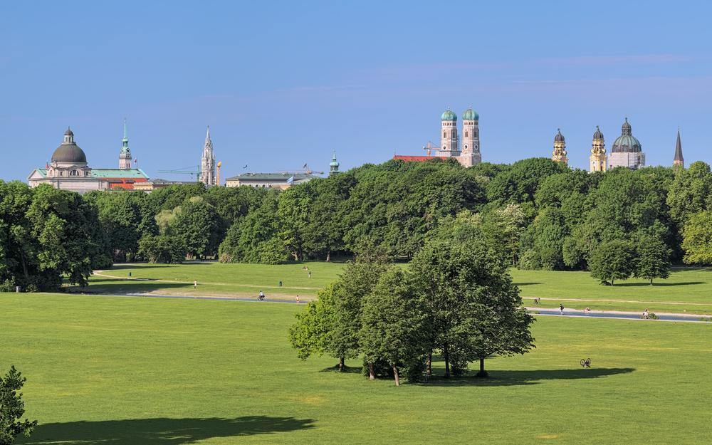 фото Мюнхена парк