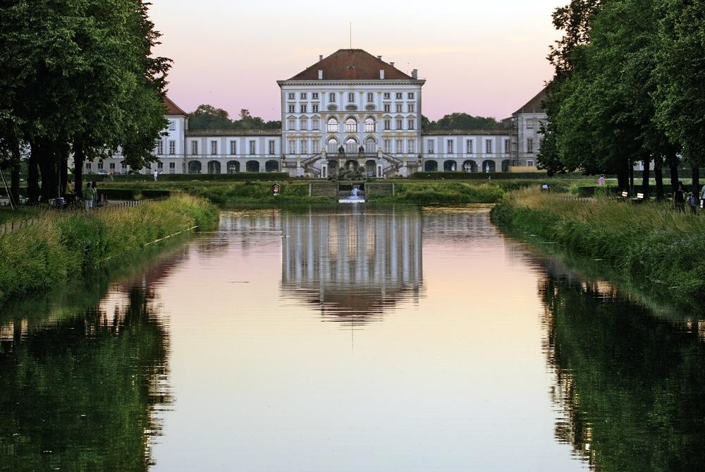 фото Мюнхена Нимфенбург