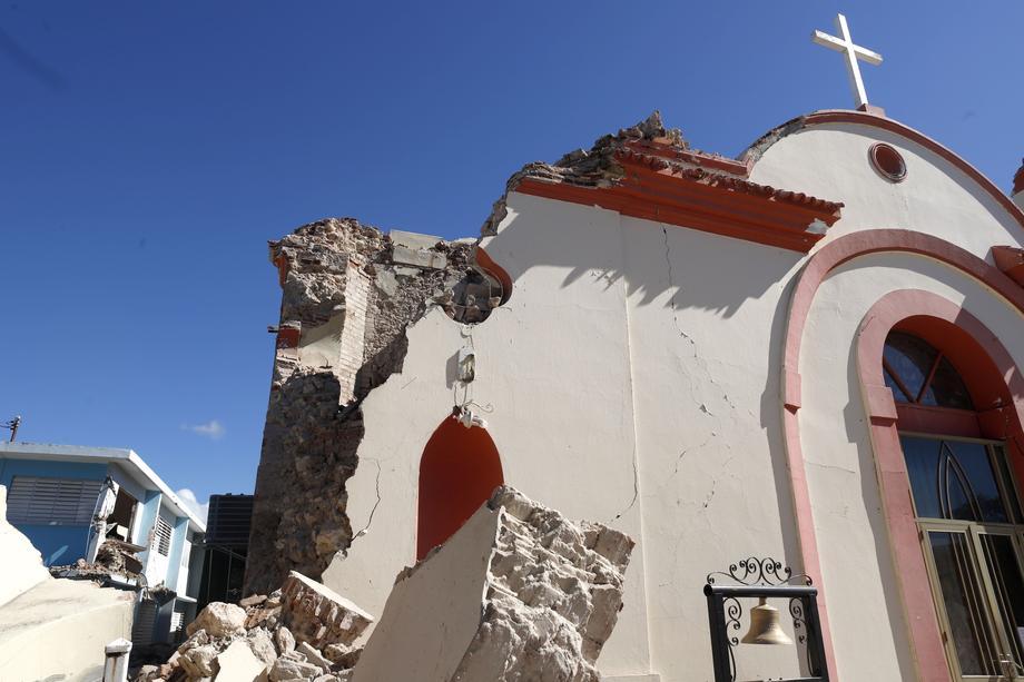 В Пуэрто-Рико произошло мощнейшее за 102 годаземлетрясение
