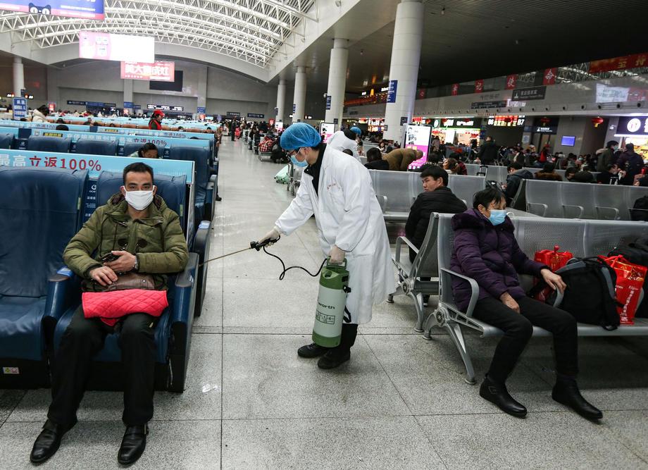 В Ухане из-за коронавируса остановлен общественный транспорт.Вокруг Света. Украина