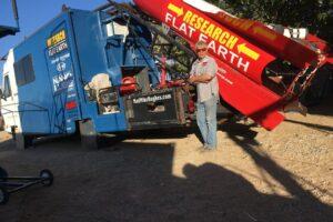 В США на самодельной ракете разбился сторонник идеи плоской Земли