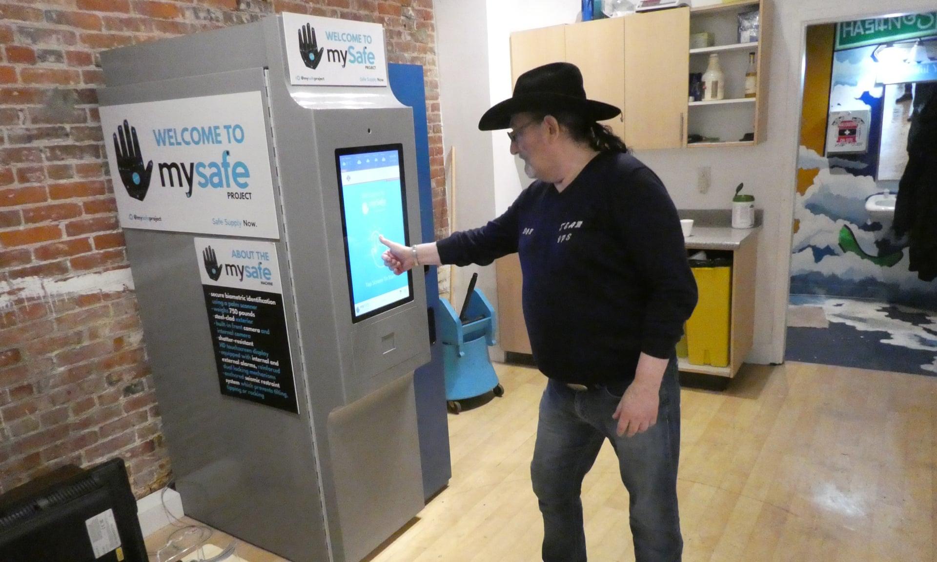 В Канаде установили торговый автомат с опиоидами.Вокруг Света. Украина