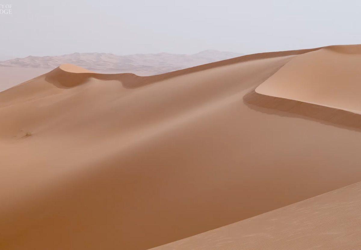 Песчаные дюны общаются друг с другом