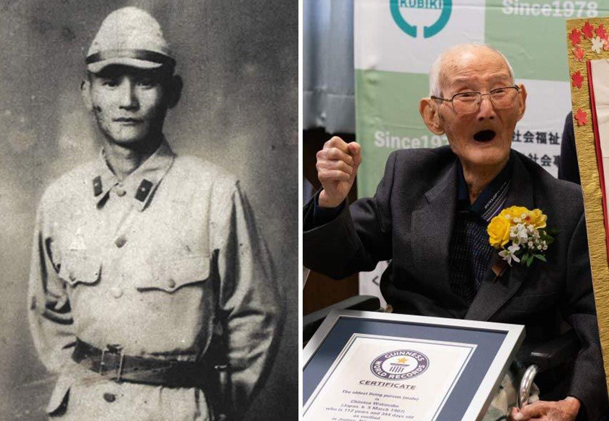 Старейшему мужчине планеты исполнится 113 лет