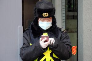 Что будет, если попытаться улизнуть от проверки на коронавирус в Китае (видео)