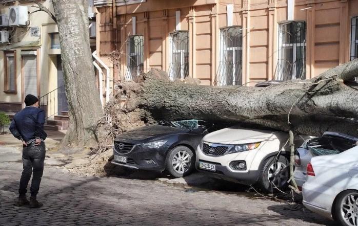 На Одессу обрушился шторм Юля: погибла женщина