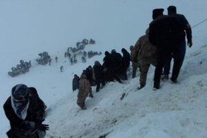 В Турции сошли подряд две лавины: погибло 26 человек
