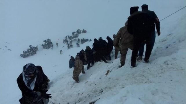 В Турции сошли подряд две лавины: погибло 26 человек.Вокруг Света. Украина