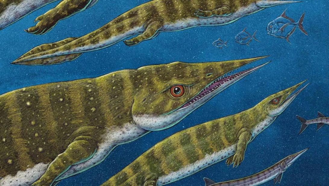 На Аляске нашли скелет неизвестного вида древних ящеров.Вокруг Света. Украина