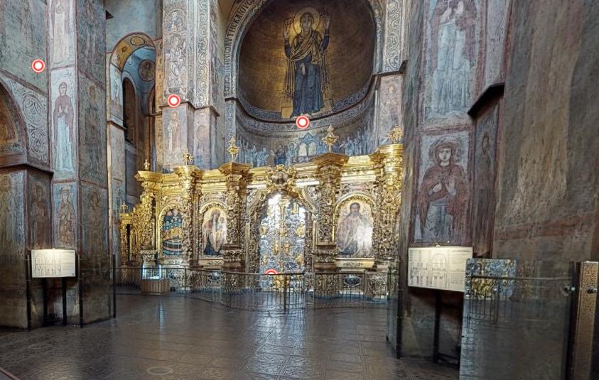 Софийский собор приглашает на виртуальную экскурсию.Вокруг Света. Украина