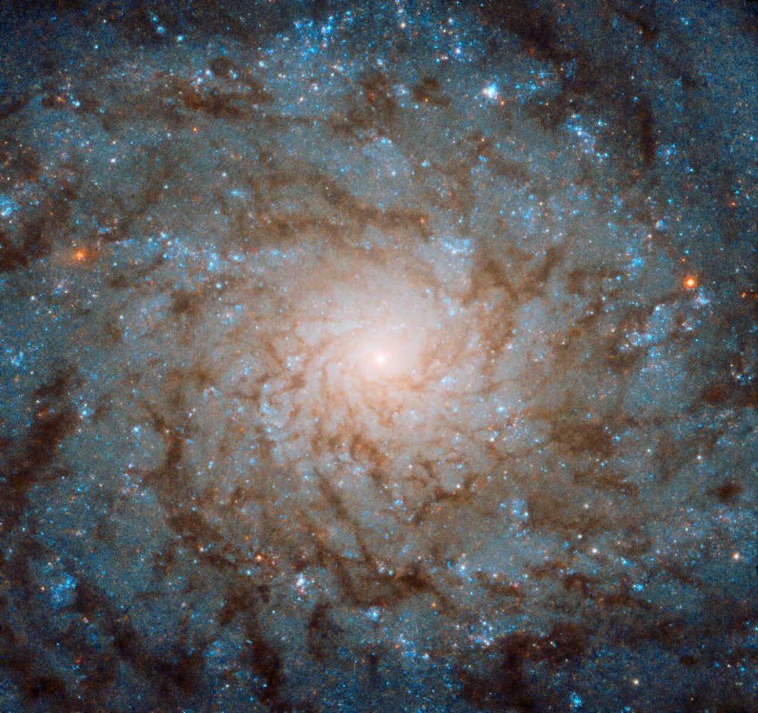 Hubble показал галактику, открытую еще ХVIII веке.Вокруг Света. Украина