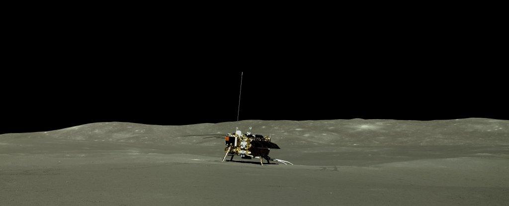 Китайский зонд собрал первые образцы грунта с обратной стороны Луны.Вокруг Света. Украина