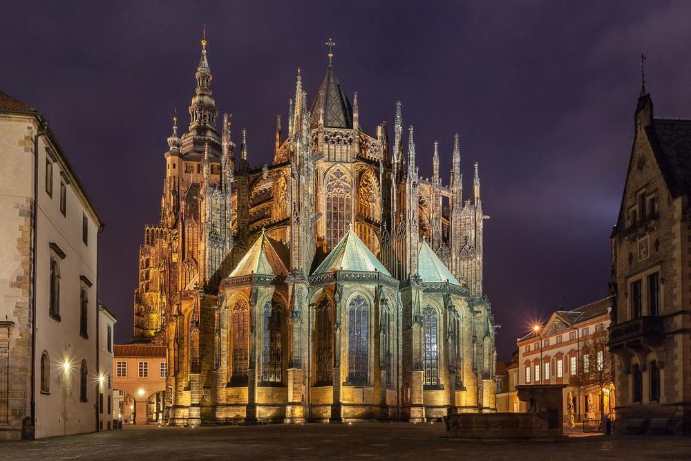 Фото Праги собор святого Витта