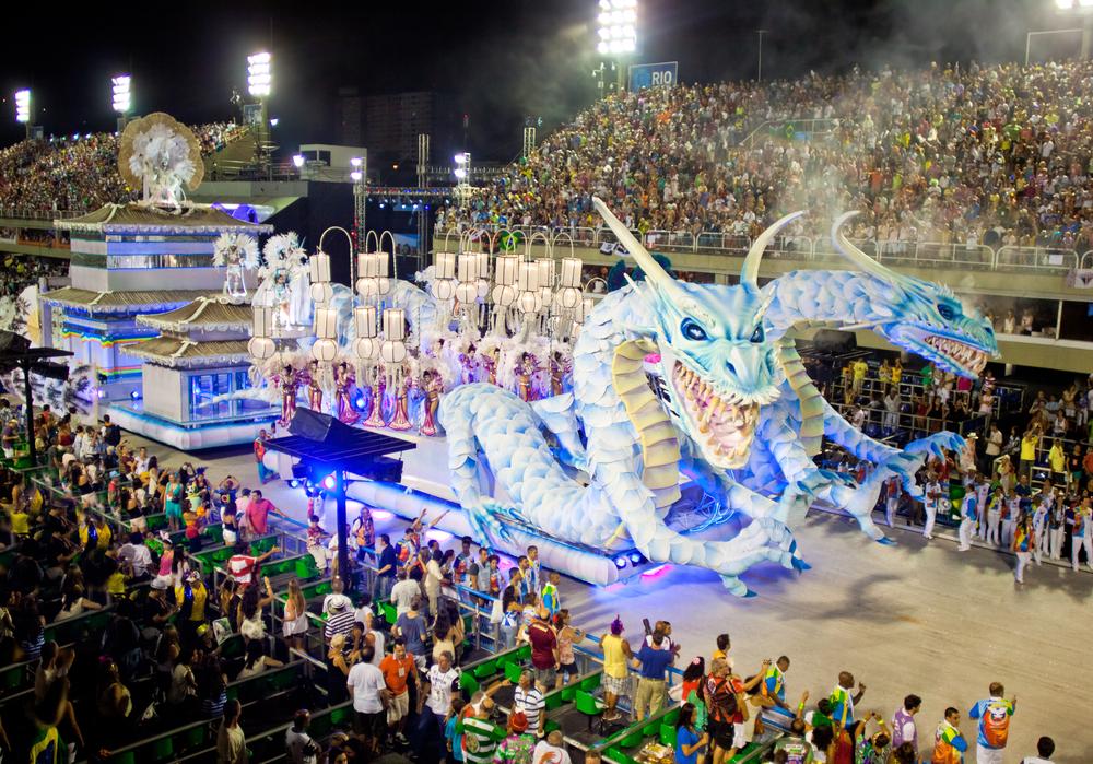 карнавал Бразилия Рио