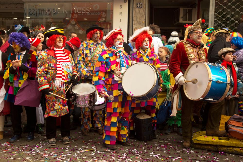 карнавал Кельн фото