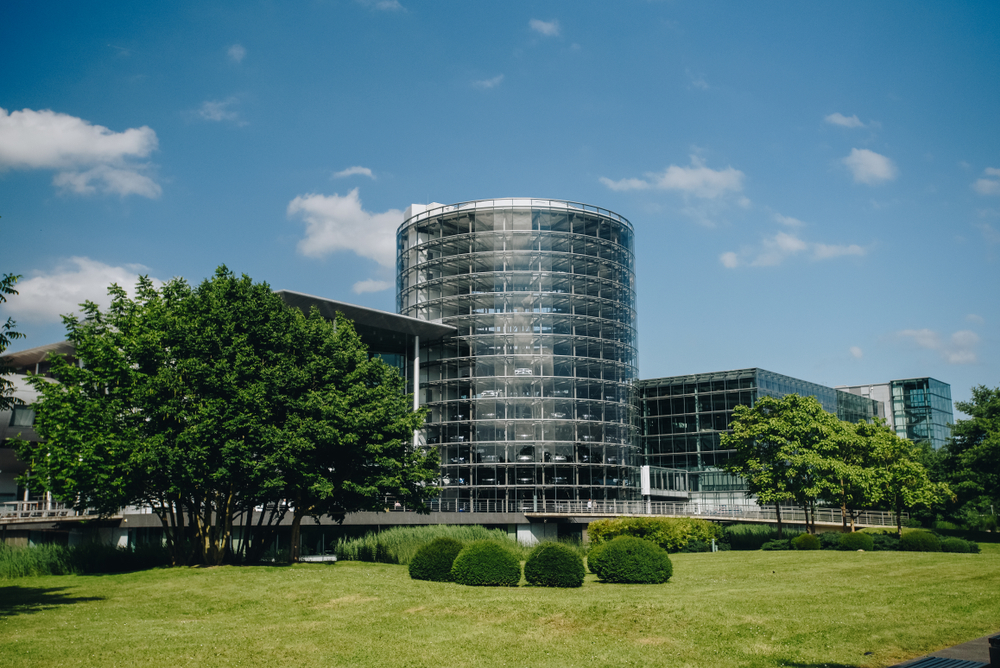 Дрезден фабрика Фольксваген