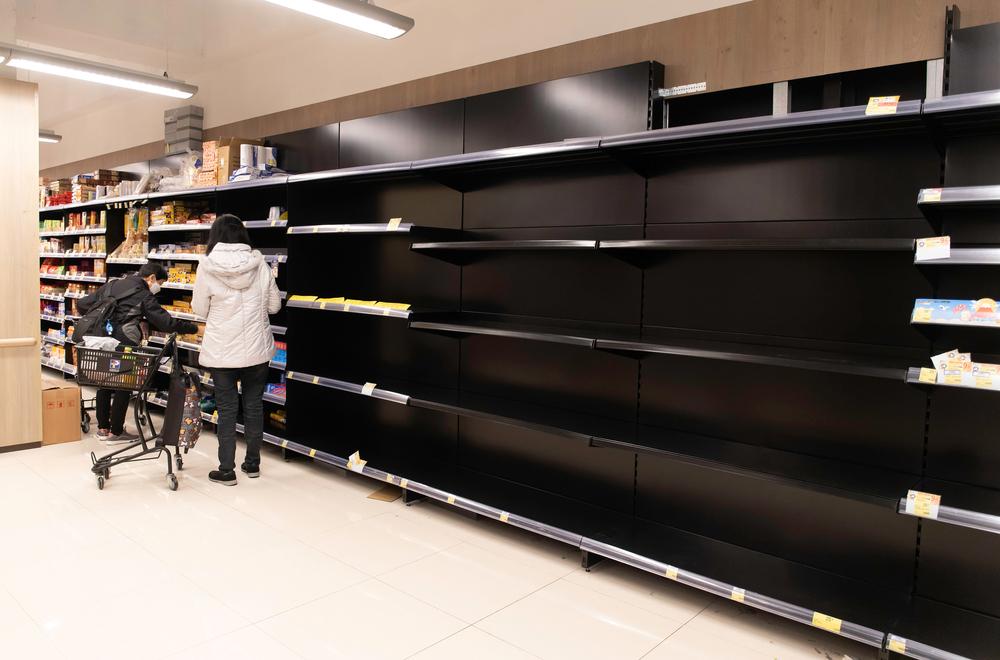 В Гонконге украли 600 рулонов туалетной бумаги из-за коронавируса.Вокруг Света. Украина