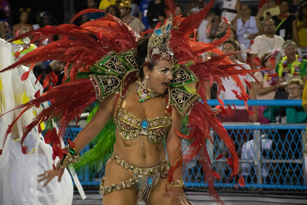 карнавал бразилия
