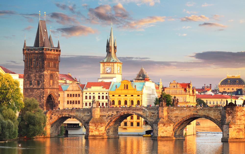фото Праги Карлов мост