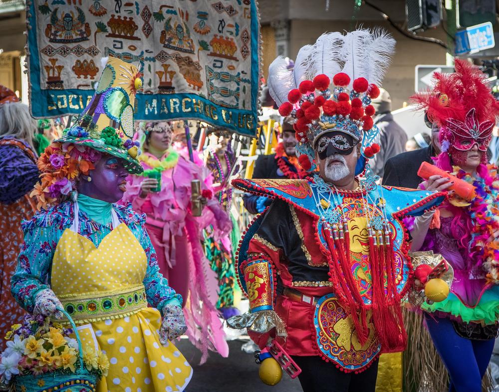 Марди Гра карнавал