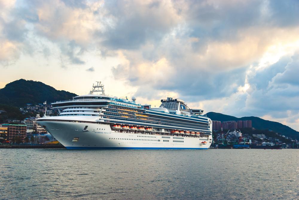 В Японии на карантинном лайнере зафиксирован 61 случай заражения коронавирусом