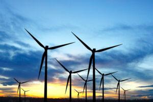 В Германии ураган помог побить рекорд по ветряной энергии