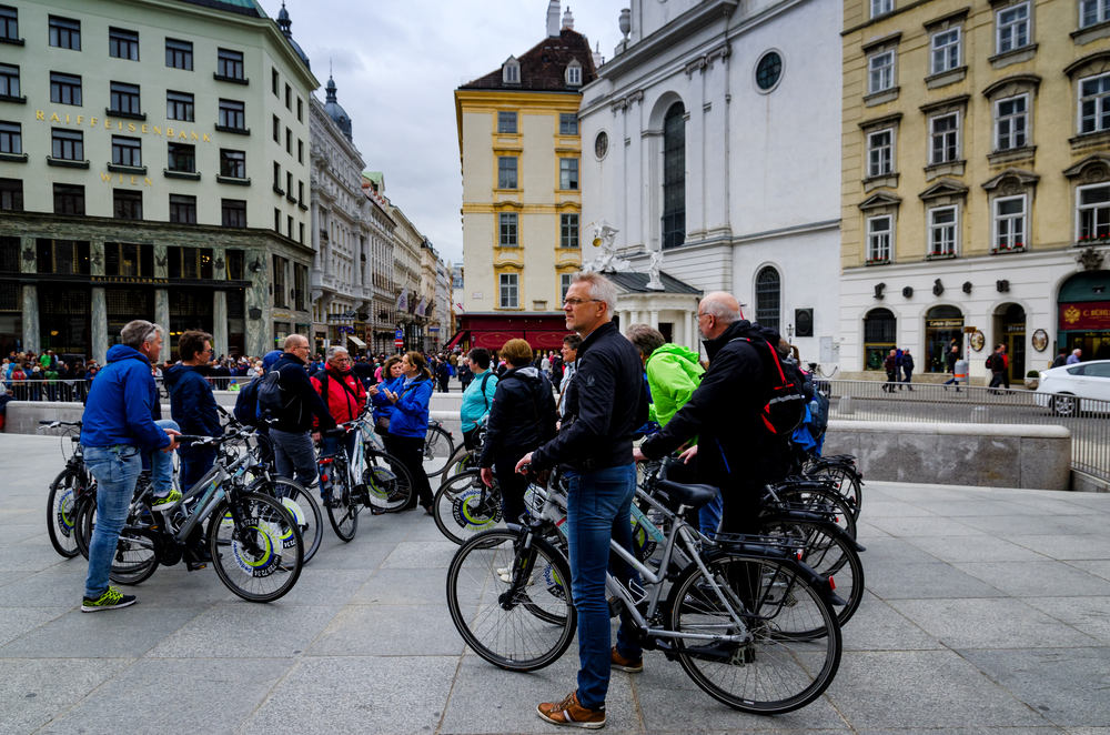 Велосипедисты смогут бесплатно попасть в музеи Вены