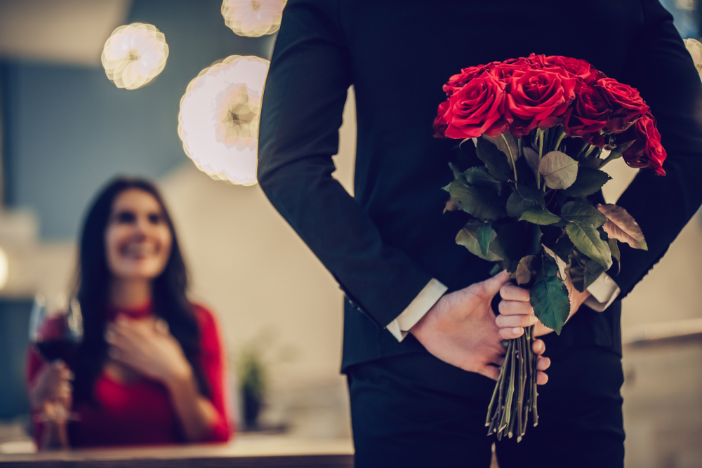 Романтическое свидание и магический ужин в Hyatt в День св. Валентина