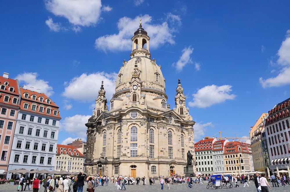 Дрезден фото Фрауэнкирхе