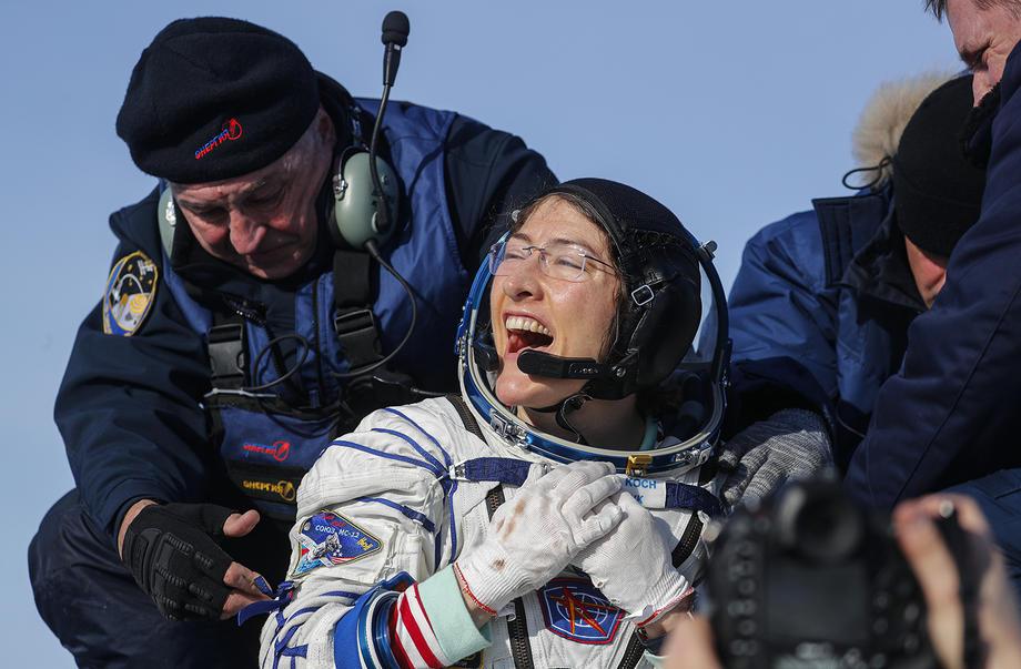 Кристина Кох установила рекорд непрерывного пребывания женщины в космосе