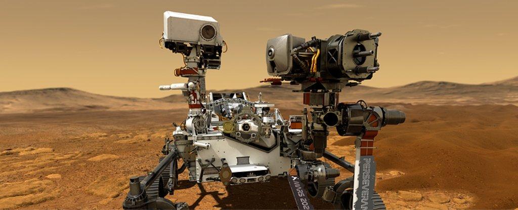 НАСА выбрало имя для своего нового марсохода
