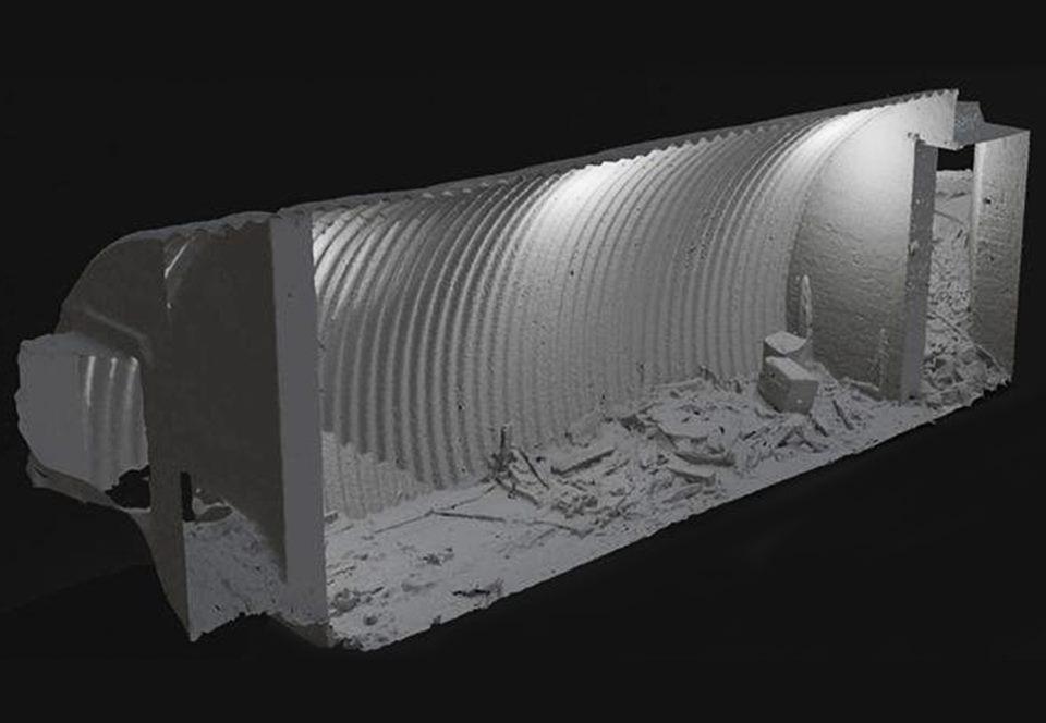 Лесорубы обнаружили бункер «секретной армии» Черчилля