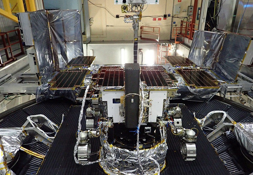 Миссия марсохода Rosalind Franklin отложена до 2022 года