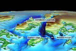 Самый глубокий ледяной каньон Земли стремительно тает