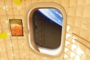 Как будет выглядеть гостиничный номер в космосе