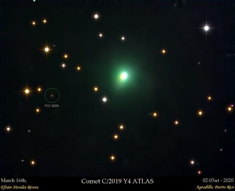 К Земле приближается ярчайшая за четверть века комета