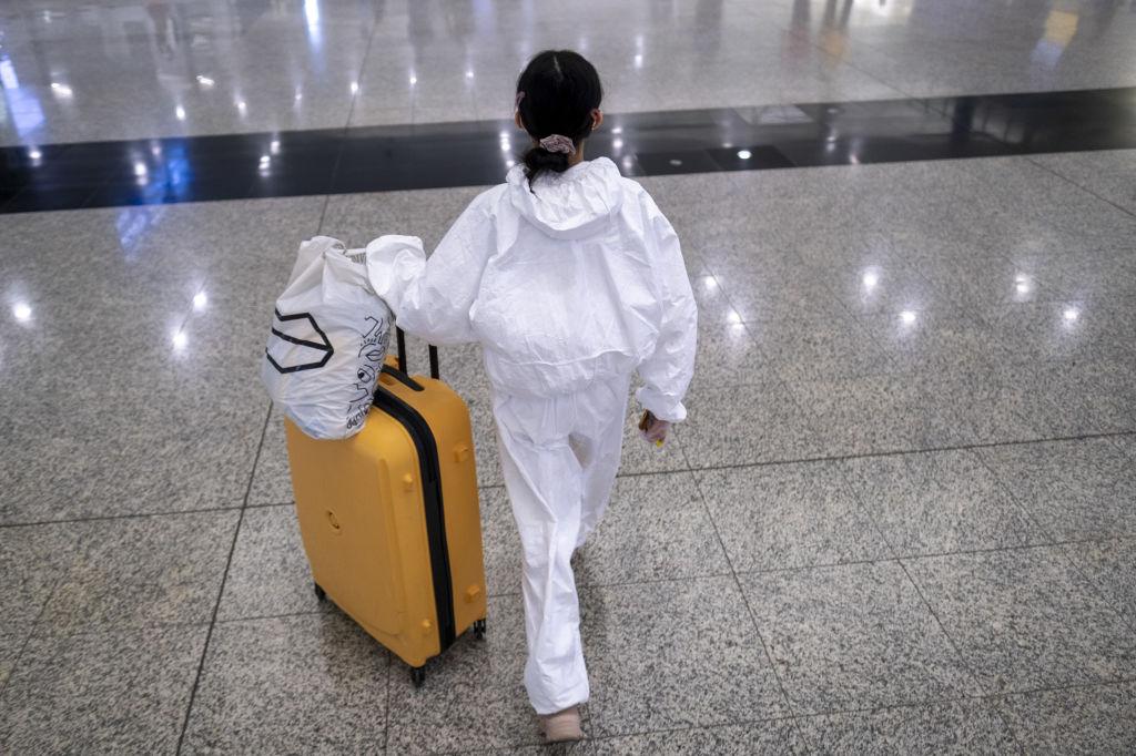 В Китае за сутки не заразился никто. Случаи отмечены только среди приезжих.Вокруг Света. Украина
