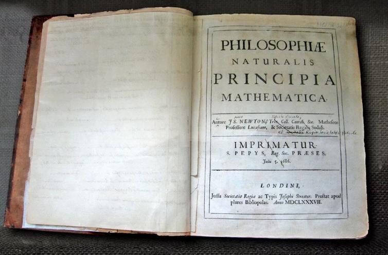 На Корсике нашли первое издание важнейшей книги Исаака Ньютона