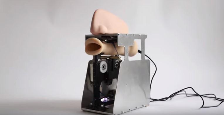 Немецкая художница придумала робота-рот
