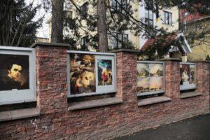 В Праге открыли выставку картин Тараса Шевченко