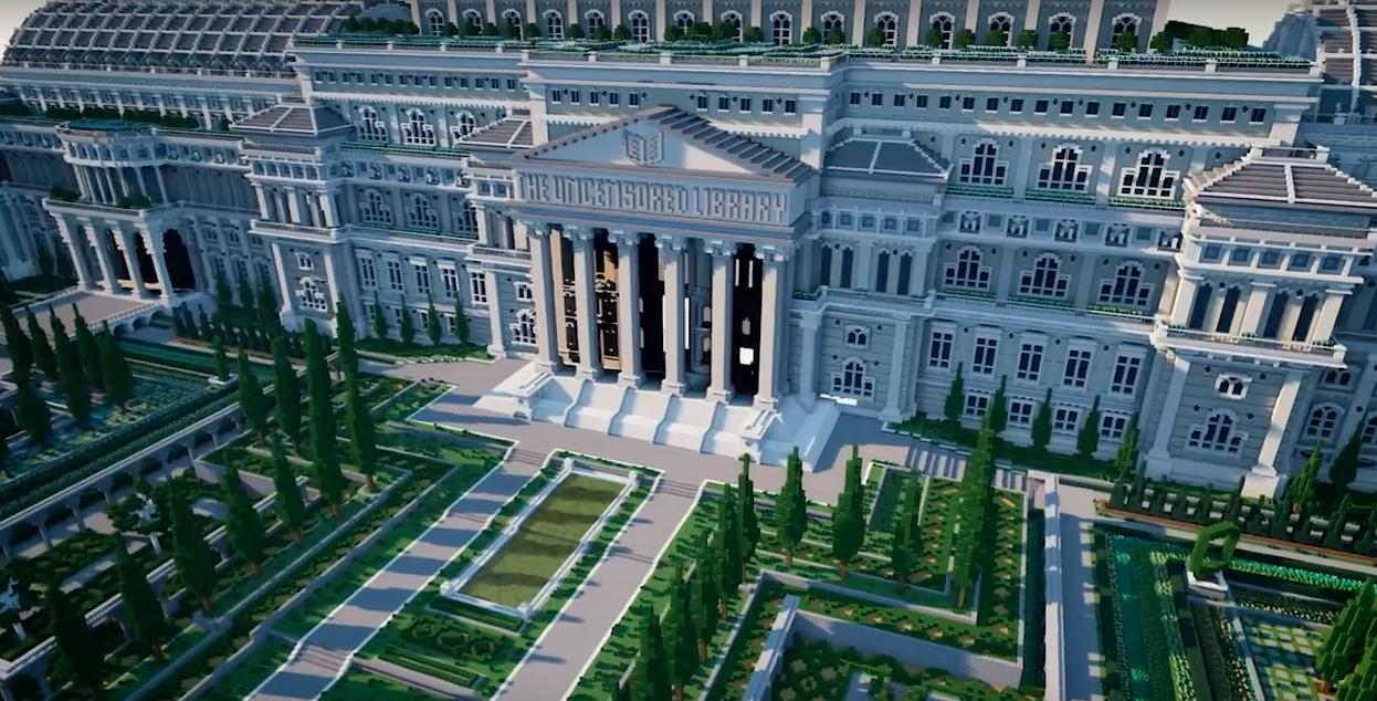 Виртуальная библиотека в популярной игре поможет обойти правительственную цензуру