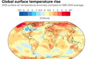 Мы официально преодолели порог потепления в 1,1 °C