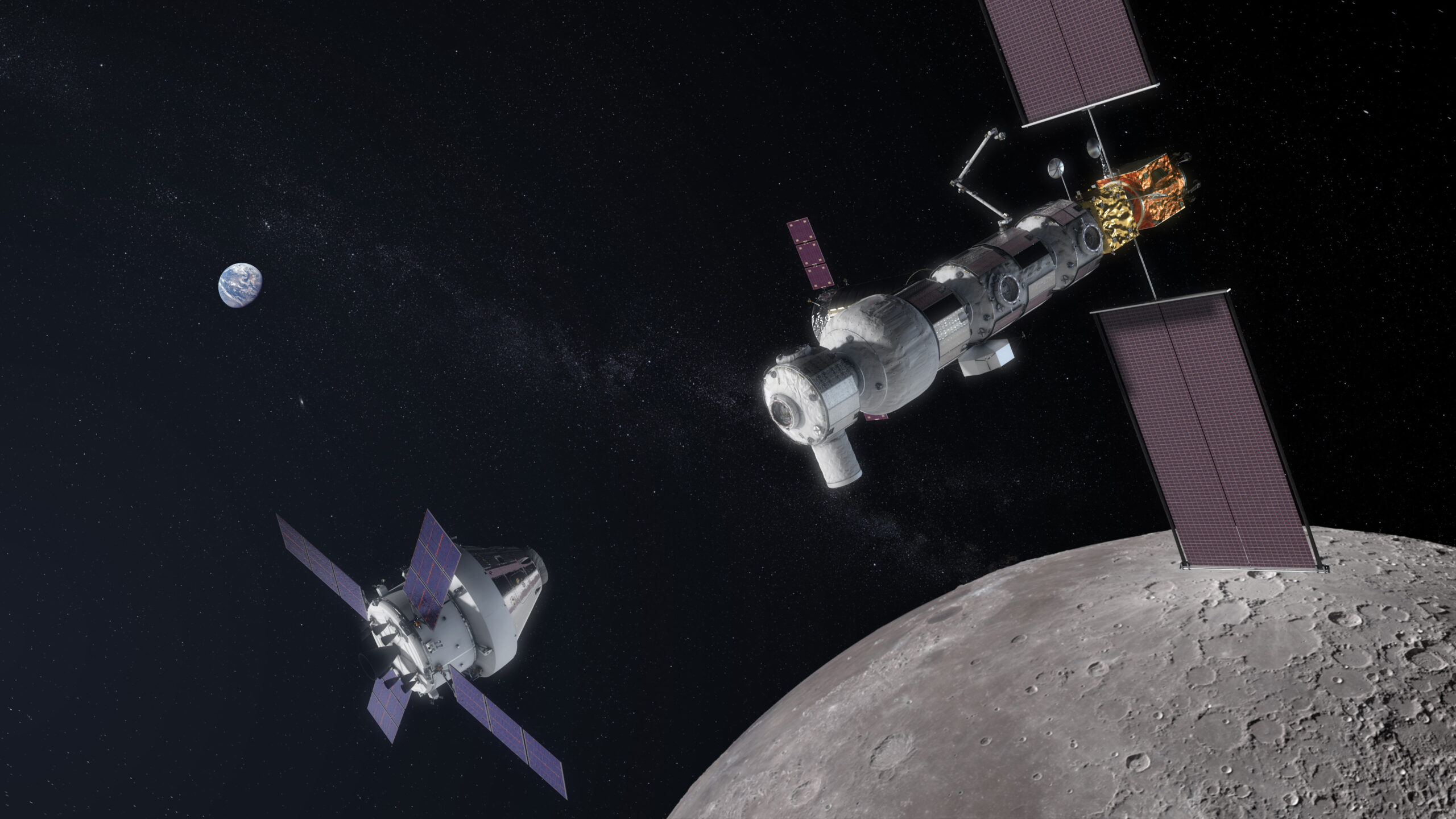 НАСА обустроит метеостанцию на орбите Луны