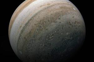 NASA опубликовали новое фото южного полушария Юпитера